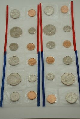 1992 P & D United States Mint Uncirculated Coin Set