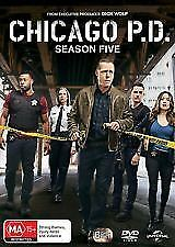Chicago P.D. : Season 5 (DVD, 2018, 6-Disc Set)