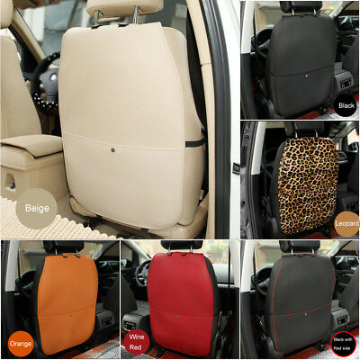 1 x Car Baby Seat Back Protector Cover Children Kick Mat Anti Kicking Padded New