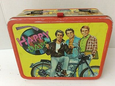 used Happy Days Lunch Box