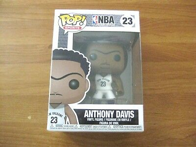Funko Pop NBA ANTHONY DAVIS #23 Vinyl Figure NEW Sealed IN HAND SHIPS FAST FREE