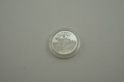 Cook Islands Silver Coin $2 Olympic National Park 1996