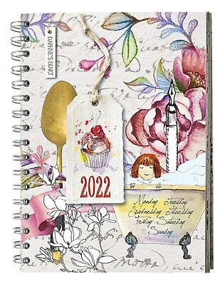2019 Daphne's Diary Journal Notebook Ringbound 15 x 21 cm - NEW