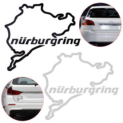 A271 Euro Nurburgring Race Track Touring Map Decal  vinyl decal for car truck