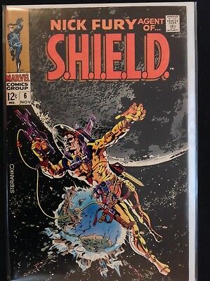 NICK FURY AGENT OF SHIELD #6 Lot of 1 Marvel Comic Book!
