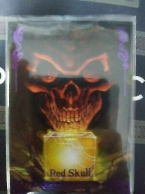 2018 Marvel Masterpieces Red Skull Skybox Epic Purple 155/199 #74 Cm17