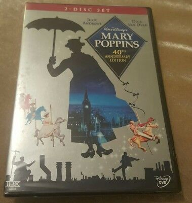 Mary Poppins (DVD, 2004, 2-Disc Set) NEW SEALED