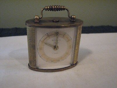 Vintage Rensie Alarm Clock, 1 Jewel, Germany, Selling For Parts