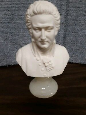 Mozart Marble Bust