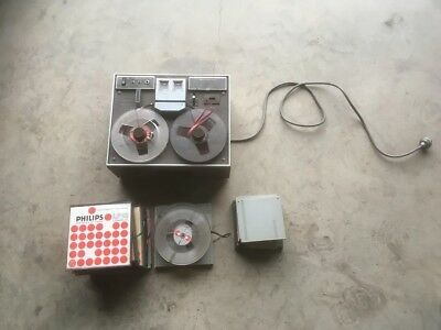 Vintage Sanyo Reel To Reel Tape Deck And Tapes