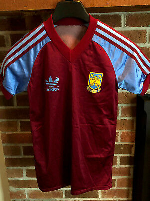 VINTAGE WEST HAM United Football Shirt Adidas 1980-1983 Youth Jersey ... 79d92d1bf