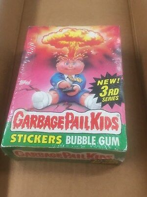 1986 Topps Garbage Pail Kids Unopened Box - 48 Packs
