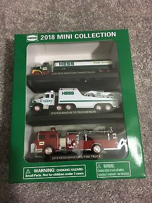 Mib 2018 Hess Mini Truck Collection Set--Sold Out!