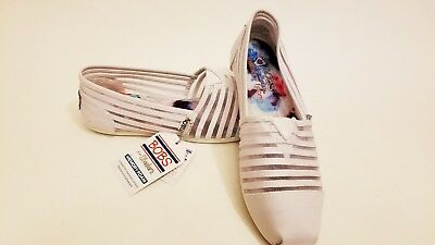 9ee1587d78 SKECHERS BOBS ADORBS Flats Women s Size 7 White New NWT -  14.95 ...