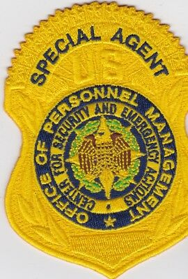 US Office of Personnel Management CSEA Special Agent patch & Lapel Pin