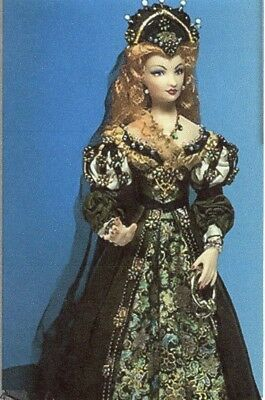 1:12 scale Miniature Doll Art Tutorials~Patterns~ Clothes//Hair///& more JOSEPHINE