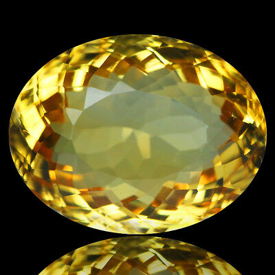 6.70 Ct Ct DAZZLING! NICE GRADE GENUINE NATURAL GOLDEN YELLOW CITRINE
