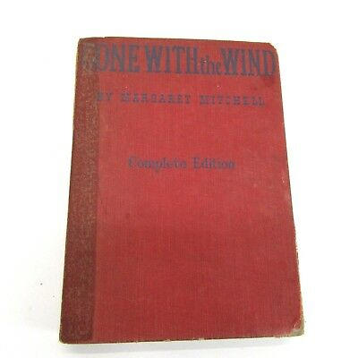 Gone With The Wind Book Early Printing & Complete Edition Motion Picture 1940