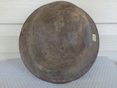 WW1 US Doughboy Helmet With Period Painted  Advance Supply Service insignia