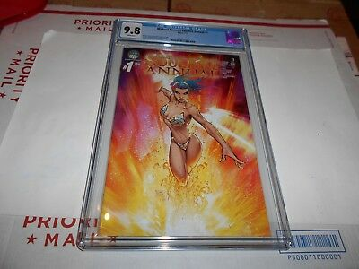 Michael Turner's Soulfire Annual  #1 Cgc 9.8 (Turner Cover)