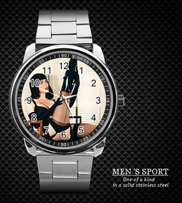 Bettie Page Steel Watch New 2019 (Rare)