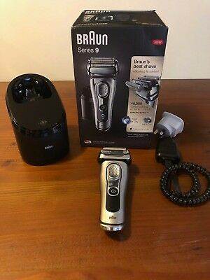 Braun Series 9 9290CC Wet & Dry Electric Mens Shaver with Clean & Charge System