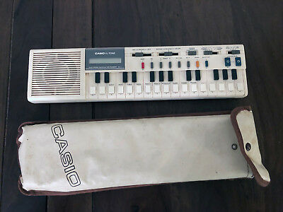 Rare Vintage Casio VL-Tone VL-1 Keyboard - Tested, Works. with extra book