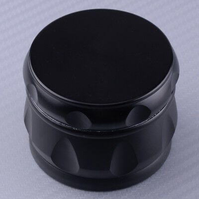 2.5Inch Crusher Drum 4 Pieces Tobacco Spice Herb Grinder Zinc Alloy Metal
