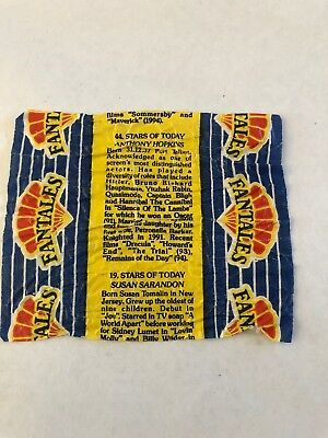 Old Fantales Chocolate Wrapper Australian Confectionary Hard To Find