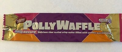 Nestle PollyWaffle Bag Packet Wrapper Confectionary Deli Item 2010