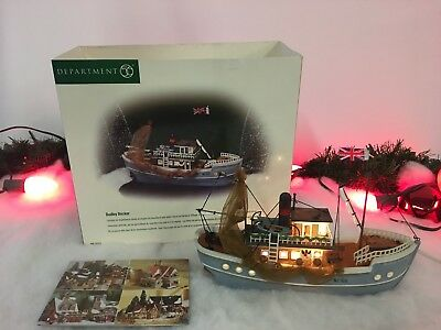New Department 56 Dickens Village Series Dudley Docker #58353 Village Piece