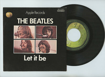 "THE BEATLES 7"" Japan LET IT BE"