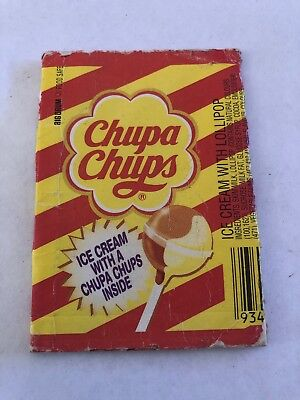 Chups Chups Icecream Wrapper Holder  Lolly Lollies Deli Item Perth Confectioner