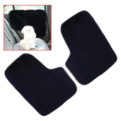 2 Pieces Pet Dog Seat Cover Car Front&Rear Door Panel Protector Scratch Guard