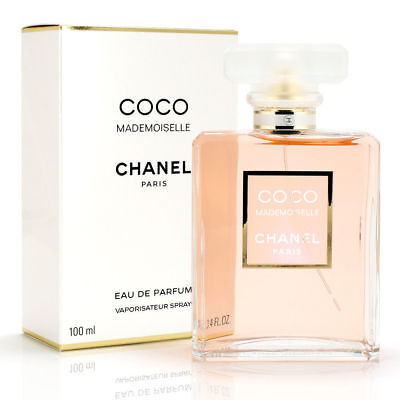 Chanel Coco Mademoiselle 100ML Eau De  Parfum Spray - Brand New Sealed RRP $259