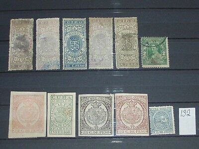 early uCba revenue stamps mint & used