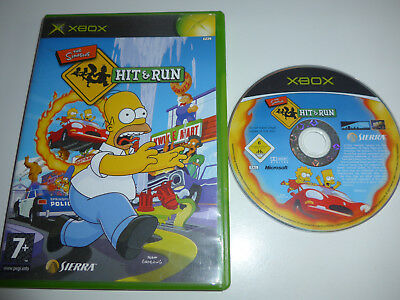 The Simpsons Hit & Run Xbox Game Boxed Tested PAL UK