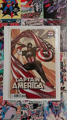 Captain America #1 Adam Hughes Variant - New Bagged And Boarded