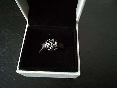 Genuine Pandora Openwork Love Heart Charm - 790964