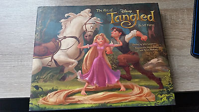 The Art of Tangled Artbook Signed Autographed x2 Rare