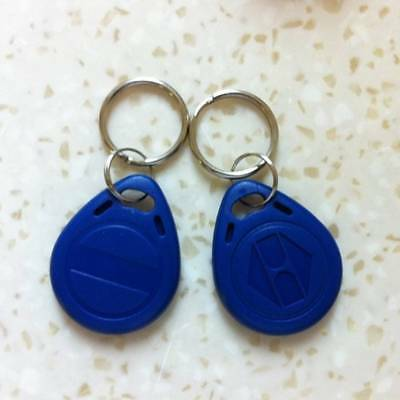 10pcs RFID 125KHz Writable Rewrite T5577 TAG Proximity Access Tag Keyfob