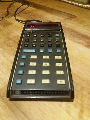 Vintage Hewlett Packard HP 35 Calculator