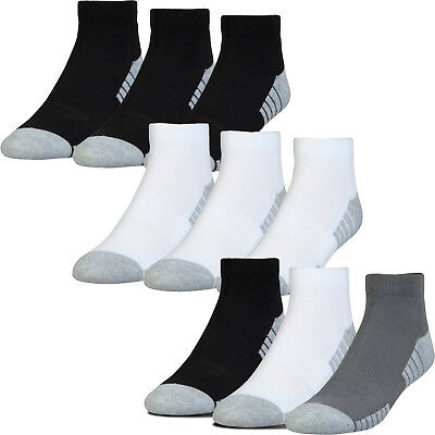 Under Armour Golf 2019 HeatGear Tech Low Cut Golf Sports Ankle Socks - 3 Pack