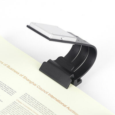 USB Rechargeable LED Book Light Flexible Clip On Book Light Night Reading Lamp Z