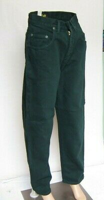 Lee Riders 771 Kansas Mens Jeans (Loose Fit, Zip Fly, Forest Dark Green) W30 L32