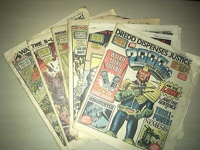 200AD Comic Bundle 1985
