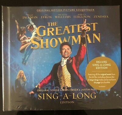 The Greatest Showman Soundtrack Deluxe Sing-A-Long Edition - Brand New Unopened