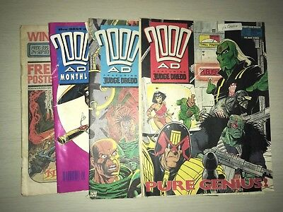 2000AD Monthly Comic Bundle