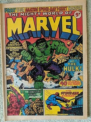 The Mighty World of Marvel no 2 week ending oct 14 1972