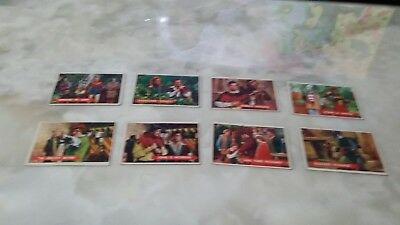 1957 Robin Hood Cards (8). Fair Condition.